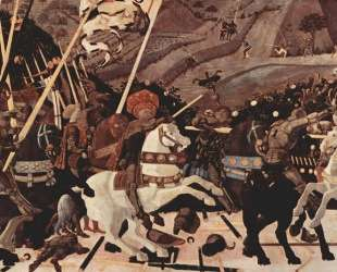Битва при Сан-Романо — Паоло Уччелло