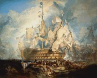 The Battle of Trafalgar — Уильям Тёрнер