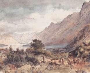 The Bay of Cattaro in Dalmatia — Рудольф фон Альт