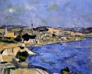 The Bay of l'Estaque and Saint-Henri — Поль Сезанн