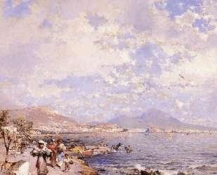 The Bay of Naples — Франц Рихард Унтербергер