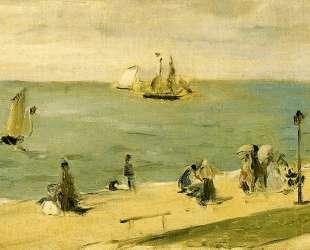 The Beach at Petit Dalles (aka On the Beach) — Берта Моризо
