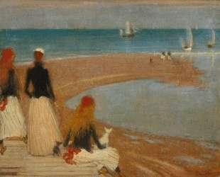 The Beach at Walberswick — Филип Уилсон Стэр