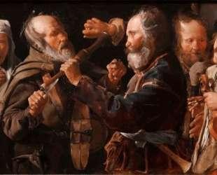The Beggars' Brawl — Жорж де Латур