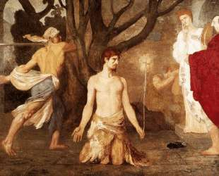 The Beheading of St. John the Baptist — Пьер Пюви де Шаванн
