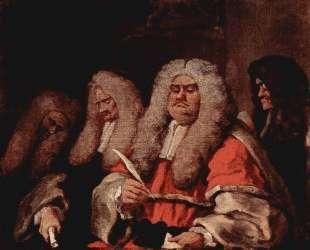 The Bench — Уильям Хогарт