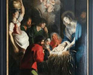 The Birth of Jesus — Корнелис де Вос