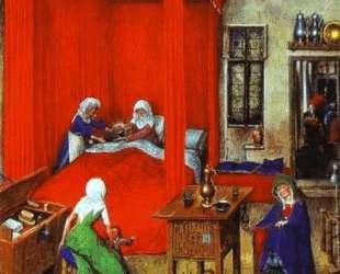 Рождение Иоанна Крестителя — Ян ван Эйк