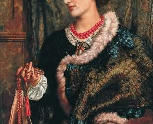 The Birthday (A Portrait Of The Artist's Wife, Edith) — Уильям Холман Хант
