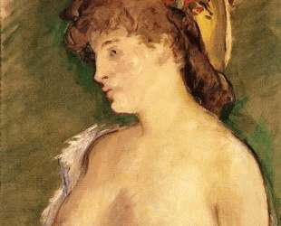 The Blonde with Bare Breasts — Эдуард Мане