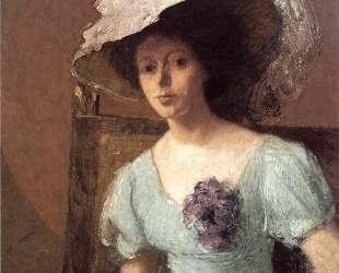The Blue Gown — Джулиан Олден Вейр