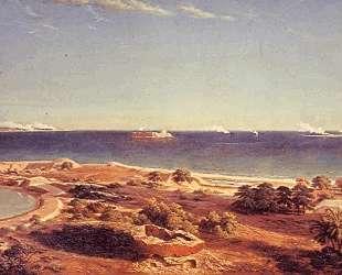 The Bombardment of Fort Sumter — Альберт Бирштадт