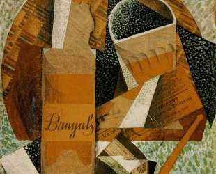 The Bottle of Banyuls — Хуан Грис