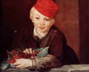 The Boy with Cherries — Эдуард Мане
