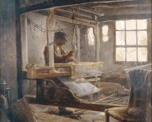 The Breton Weaver — Поль Серюзье