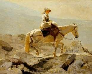 The Bridal Path, White Mountains — Уинслоу Хомер