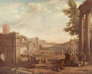 The Campo Vaccino, Rome — Клод Лоррен