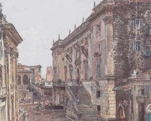 The Capitol in Rome — Рудольф фон Альт