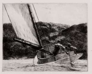 The Cat Boat — Эдвард Хоппер