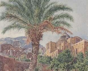 The Cathedral of Capri — Рудольф фон Альт
