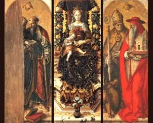 The central panels of the polyptych — Карло Кривелли