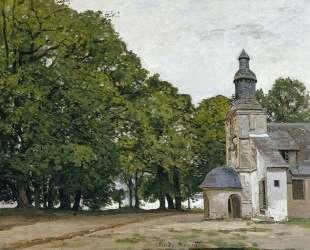 Церковь Нотр-Дам-де-Грас в Онфлёре — Клод Моне