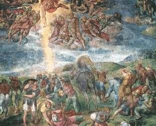 The Conversion of Saul — Микеланджело