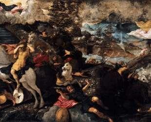 The Conversion of Saul — Тинторетто