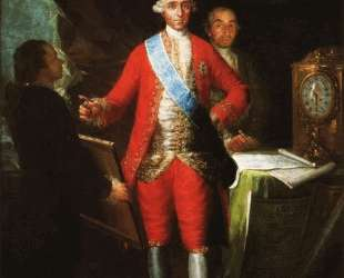 The Count of Floridablanca — Франсиско де Гойя