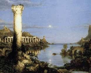 The Course of Empire: Desolation — Томас Коул