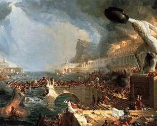 The Course of Empire: Destruction — Томас Коул
