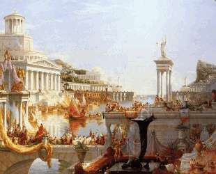 The Course of Empire: The Consummation of the Empire — Томас Коул