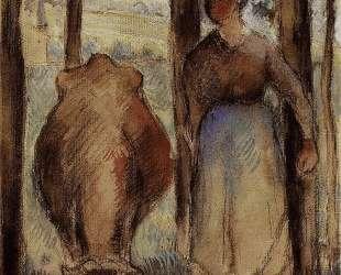 The Cowherd — Камиль Писсарро