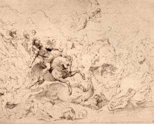 The Damage of Sennaherib — Питер Пауль Рубенс