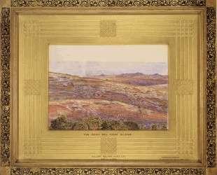 The Dead Sea from Siloam — Уильям Холман Хант