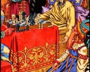 Смерть Ивана Грозного — Иван Билибин