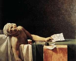 Смерть Марата — Жак Луи Давид