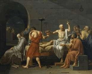 Смерть Сократа — Жак Луи Давид