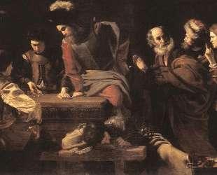 The Denial of St. Peter — Николя Турнье