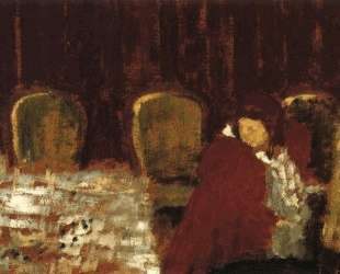 The Dining Room — Эдуар Вюйар
