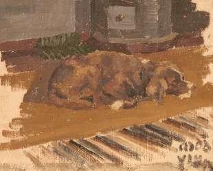 The dog has gone — Николай Рерих