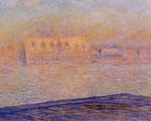 Дворец Дожей, вид с Сан-Джорджо Маджоре — Клод Моне