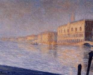 Дворец Дожей — Клод Моне