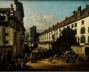 The Dominican Church in Vienna — Бернардо Беллотто