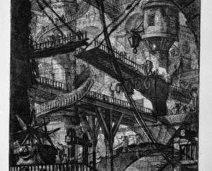 The Drawbridge — Джованни Баттиста Пиранези