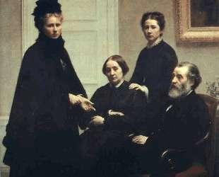 The Dubourg Family — Анри Фантен-Латур
