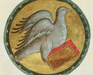Орел — cимвол евангелиста Иоанна Богослова — Андрей Рублёв