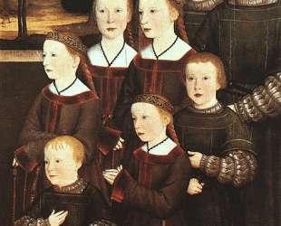 The eight children Konrad Rehlinger — Бернхард Штригель