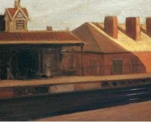The El Station — Эдвард Хоппер