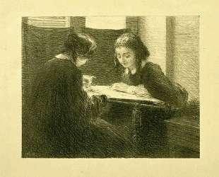 The-Embroiderers, No. 3 — Анри Фантен-Латур
